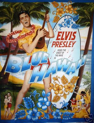 Large Elvis Presley Hawaii Panel - Click Image to Close