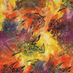 Sunrise F - Burrangong Creek Batiks - Click Image to Close