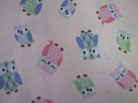 Owls on pink background