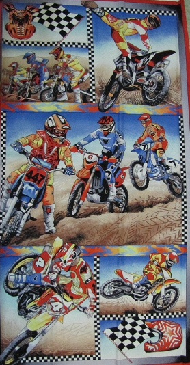 Motor Cross Motor Bike Panel 106cm x 60cm - Click Image to Close
