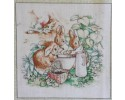 Beatrix Potter Square #1 - Appox 10cm x 10cm