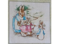 Beatrix Potter Square #3 - Appox 10cm x 10cm