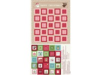 Advent Calendar Pink & Red Tonings North Pole by Lewis & Irene
