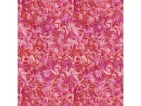 Cat-I-Tude: Triangular Motion Pink with Gold Metallic Print