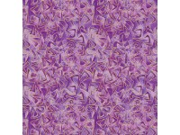 Cat-I-Tude: Triangular Motion Purple with Gold Metallic Print