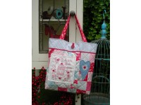 "A Little Birdie Bag Pattern by Sally Giblin 16"" x 23.5"""