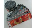 "Aussie Jelly Roll 100% Cotton 40 x 2.5"" strips"