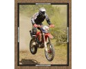 "Burrangong Creek Dirt Bike Co: Portrait 36"" x 44"" Panel bikes"