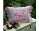 "Best Friend Birdies Cushion Pattern by Sally Giblin 15"" x 23"""
