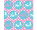 Bicycles Bikes Wheels Pink / Aqua
