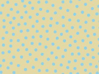 Blue Dots on Beige