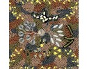 Bush Tucker Dreaming Brown by Audrey Martin Napanangka