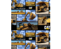 Caterpillar Construction Machinery Bulldozer Digger Truck