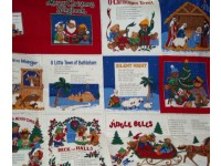 Merry Christmas Song Book Cloth