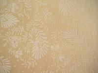 Cream, Bone, Tone on Tone Fern-like Print