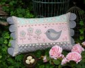 "Daisy Doo Cushion Pattern by Sally Giblin 14"" X 23.5"""
