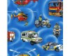 Emergency Fire Engine Police Ambulance Fabric