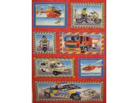 Emergency Fire Engine Police Ambulance Panel