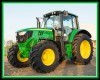 "Farm Machines Panel: Green Tractor 36"" x 44"" Panel"