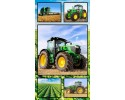 "Farm Machines: Collage 24"" x 44"" Panel"