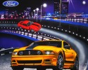 FORD MUSTANG PANEL 90cm x 110cm