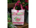 "Hopscotch Bag Pattern by Sally Giblin 12"" x 20"""