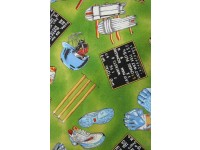 Cricket Pads, Balls, Gloves, Score Board - Cricket Fabric