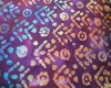 Batik - Purple, Blue, Pink, Orange & Green