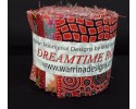 Dreamtime Aboriginal Jelly Roll - Red Colour Theme