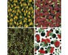 Kiwi Fat Quarters - includes 4 fat quarters - New Zealand Flora
