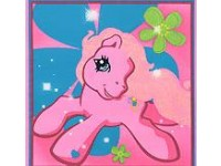 Pink My Little Pony Pillow / Cushion Panel