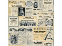 NED KELLY - NEWSPAPER