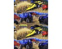New Holland Tractor Continuous cows