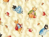 Beatrix Potter Tale of Pigling Bland on Cream