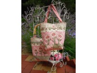 Spring Delight Bag Pattern 30cm x 46 cm by Rivendale Collection