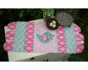 "Stickybeak Table Runner by Sally Giblin 13.5"" x 30.5"""