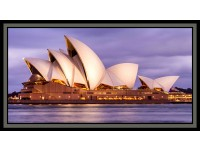 "Sydney Sights: Opera House 24"" x 44""Panel"