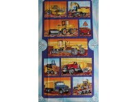 Construction Machinery Large Block Panel - Grader, front end loa