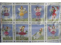 Fairy Panels on a Blue Background