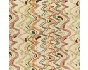 Gooloo Stripe - Cream Background with Orange, Brown, Olive Green