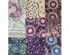 9 Australian Aboriginal Fat Quarters - Pack 14