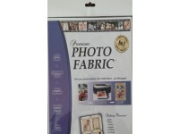 Printable Premium Cotton Photo Fabric A4 Size Pack of 10 Sheets