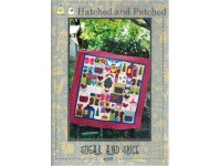 Sugar and Spice Children's Quilt by Hatched and Patched