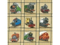 Locomotive Trains Panel - squares