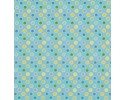 Happi Coordinate for Blue Panel - Dots Blue, Yellow, Green,