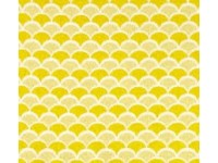 FLANNEL - Yellow and Light Yellow Wave look