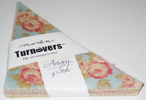 Moda Turnovers AVIARY by 3 Sisters - damaged packaging - Click Image to Close