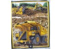 Caterpillar Panel - Construction Dozer, Trucks, Diggeer