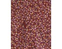 Damper Seeds - Burgundy - Australian Aboriginal Fabric