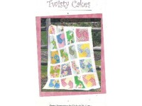 Twisty Cakes, Easy Quilt Pattern by Kimberly Camou